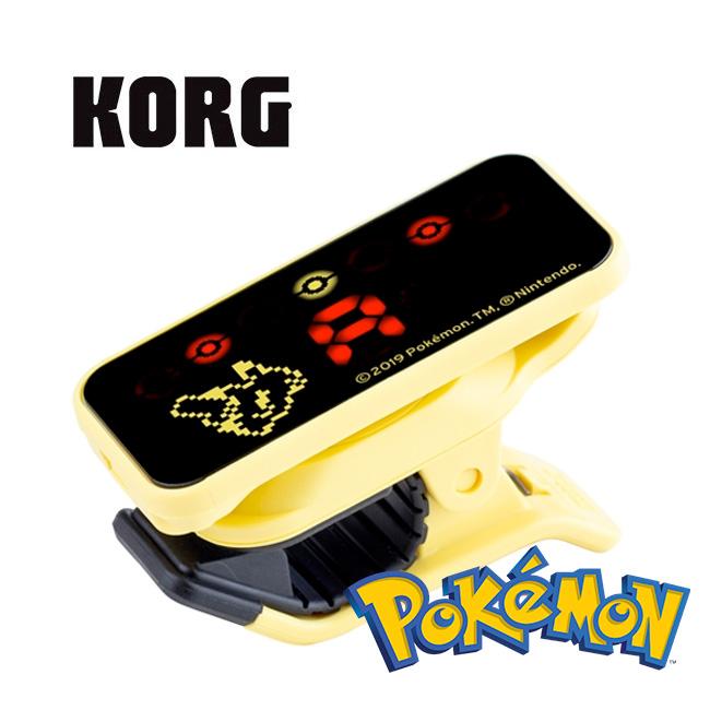 KORG Pitchclip 2 클립 온 튜너 / 포켓몬스터 피카츄 한정판 (PC-2 PPK)