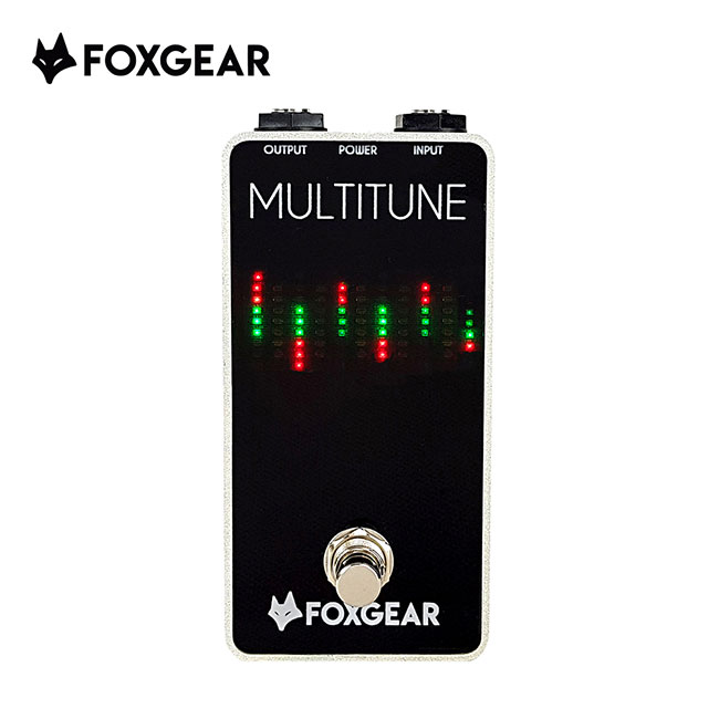 FOXGEAR - Multitune / 폴리포닉 크로매닉 듀얼 튜너 페달