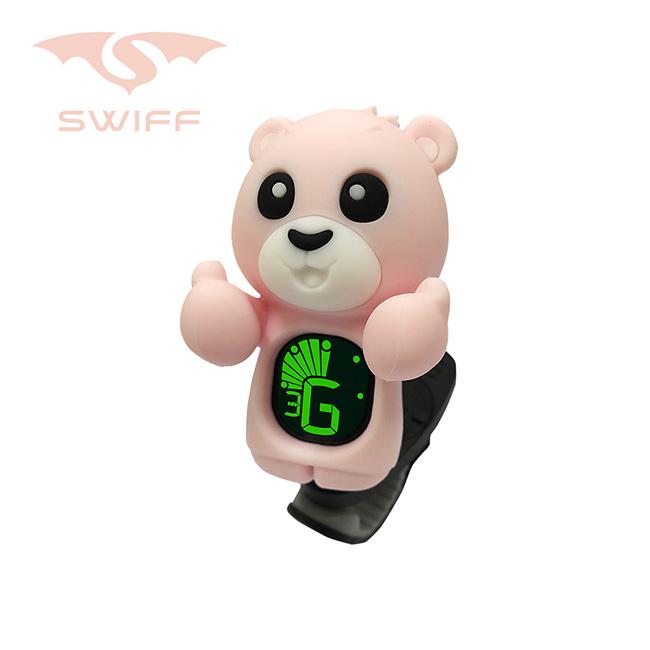 Swiff Kai Bear Tuner Pink / 카이 베어 클립 튜너 (핑크)