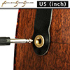 Acoustic Strap Secure - US(inch) - Brass - Mini 미니사이즈, 어쿠스틱 전용 스트랩 락
