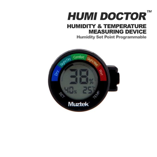Muztek HUMI DOCTOR - Premium Hygrometer 습도계