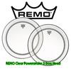 REMO PowerStroke 3 CLEAR 베이스드럼헤드(P3-1322-C2-)