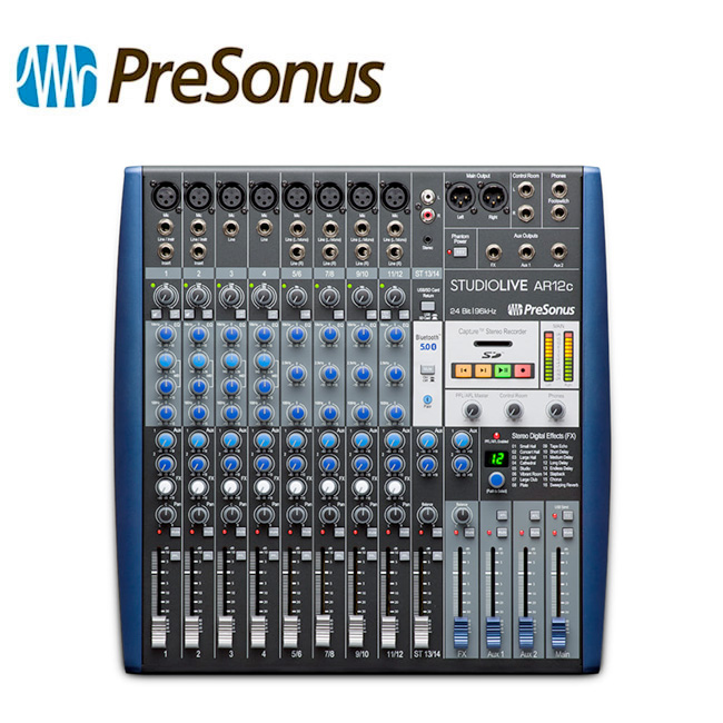 PreSonus StudioLive AR12c / 프리소너스 아날로그 믹서