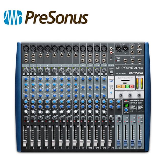 PreSonus StudioLive AR16c / 프리소너스 아날로그 믹서