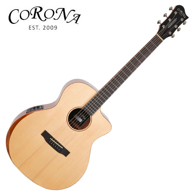[특가]Corona ABG-210CE / 탑솔리드 그랜드 오디토리엄 베벨 컷 통기타 (Fishman Presys) 5226
