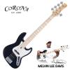[수리특가-픽업교체]Corona MLD5 Melvin Lee Davis Sig. 5-String / 멜빈 리 데이비스 시그네쳐 Black Pearl (White Pearl inlay) 9629