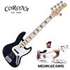 [특가]Corona MLD5 Melvin Lee Davis Sig. 5-String / 멜빈 리 데이비스 시그네쳐 Black (Black Pearl inlay) 4466