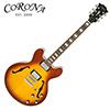 [덴트특가]Corona CES-335 (ICE TEA) / 코로나 올솔리드 세미할로 일렉기타 9394
