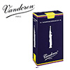 Vandoren 트레디셔널 소프라노 색소폰 리드 2½호 10개팩 (SR2025)