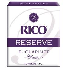 <font color=#262626>RICO RESERVE 클라리넷 클래식 리드 Bb 3호 (RCT1030)</font>