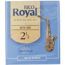 <font color=#262626>RICO Royal 알토 색소폰 리드 2 ½ (색소폰, 섹소폰)</font>