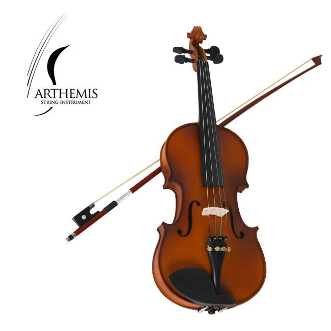 [신학기 바이올린 특가] Arthemis ASVD-200 바이올린 1/2 사이즈 (무광)