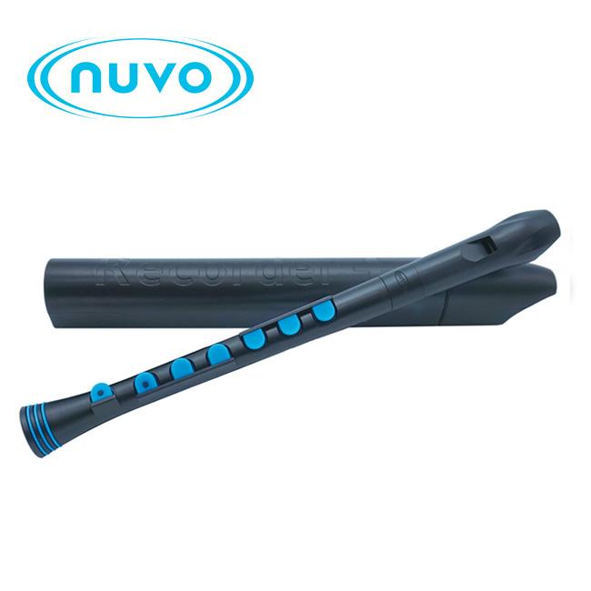 Nuvo 리코더 - Black / Blue 저먼식 (N320RDBBL-G)