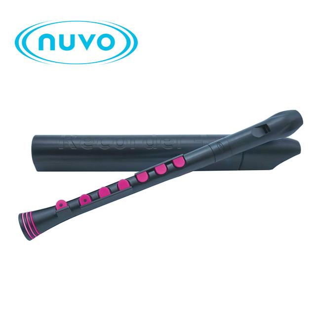 Nuvo 리코더 - Black / Pink 저먼식 (N320RDBPK-G)