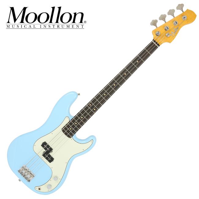 Moollon P Classic - Daphne Blue (1804) 물론 프레시젼 베이스+하드케이스
