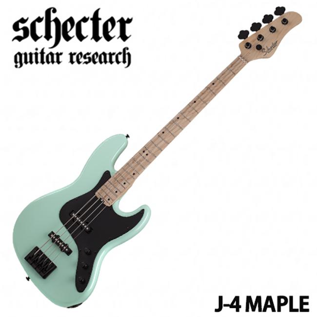 Schecter - Retro J-4 Maple / Sea Foam Green (SFG)