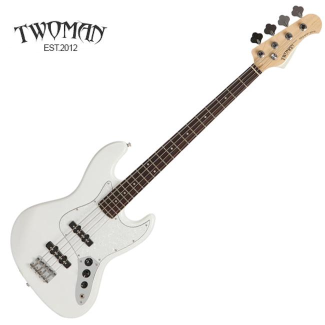 Twoman TJB-100 / 투맨 베이스기타 (WH)
