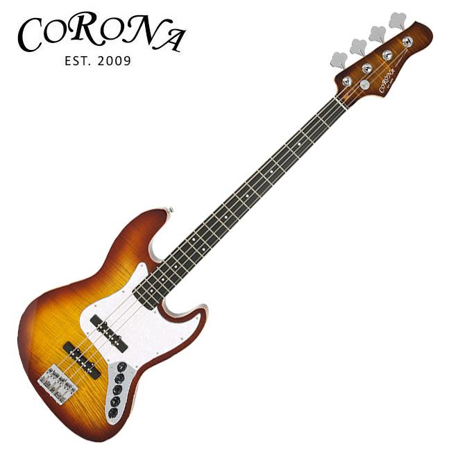 Corona CJB Premium Active Bass (Brown Burst)
