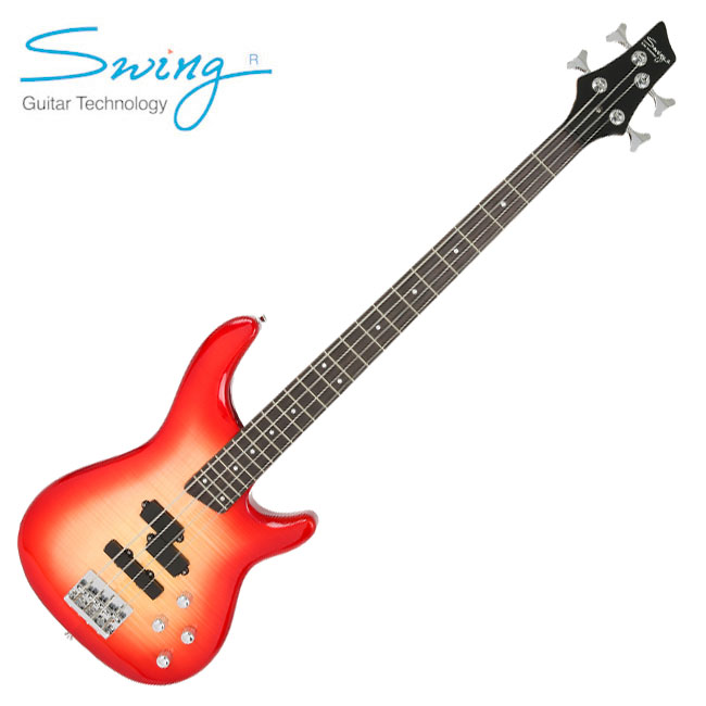Swing FV1P 베이스기타 / Red Burst
