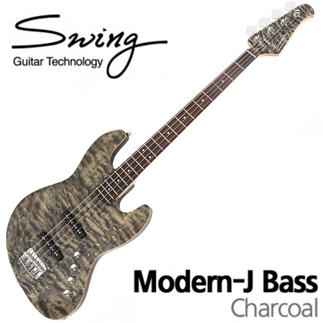 Swing Modern-J Bass  / 스윙 베이스 (Charcoal)