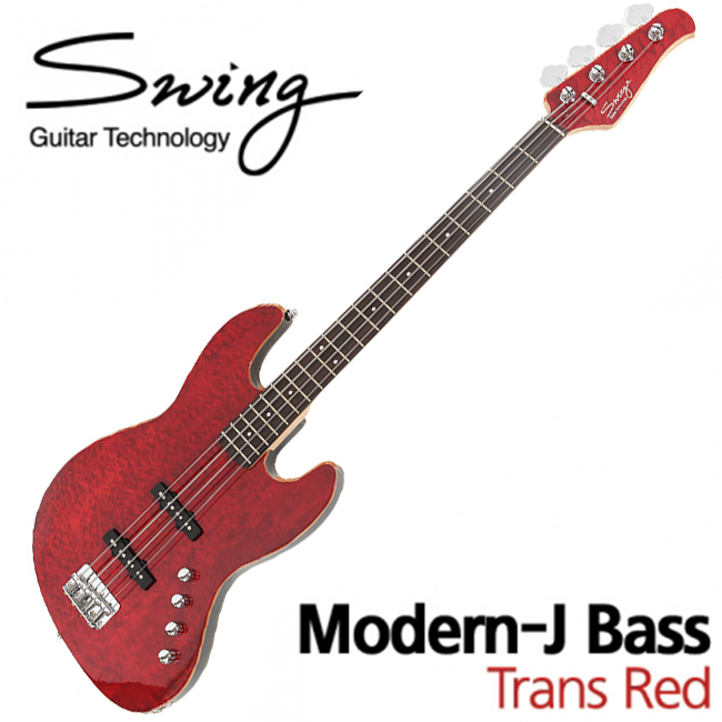 Swing Modern-J Bass Trans Red(TRD)