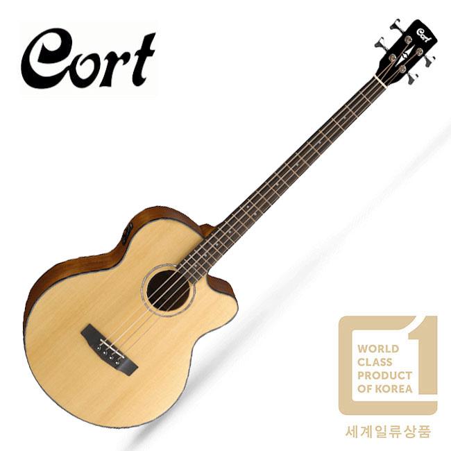 Cort AB850F 콜트 어쿠스틱 베이스 (NAT)
