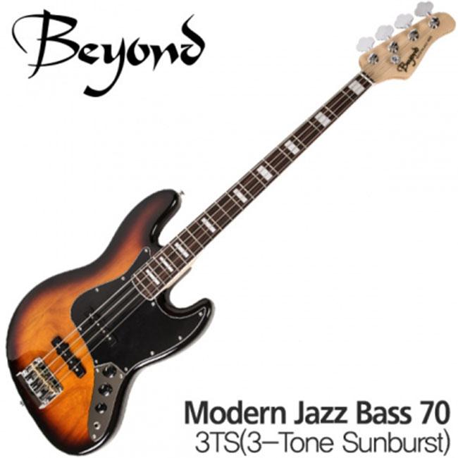 Beyond 일렉베이스 Modern Jazz Bass 70 3TS -  로즈우드