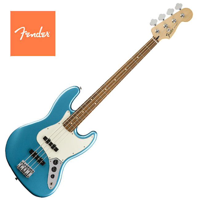 Fender Mexico Standard Jazz Bass Lake Placid Blue - Pau Ferro (014-6203-502)
