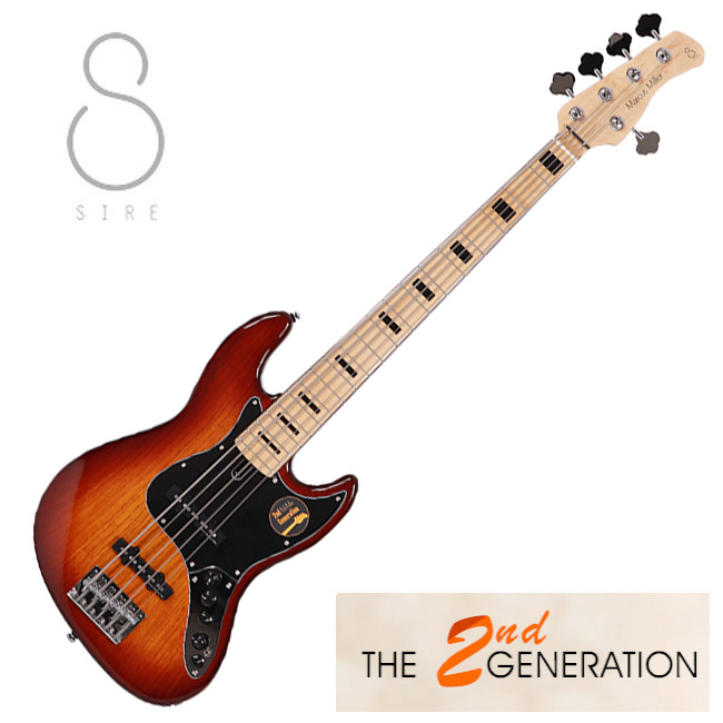 [2nd Generation]<br>SIRE Marcus Miller V7 Vintage Ash 5현 / 사이어 마커스밀러 (TS)