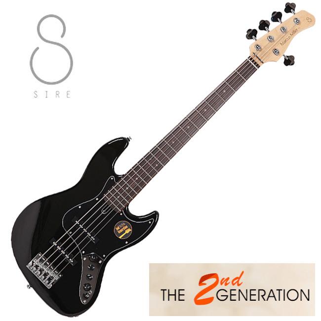 [2nd Generation]<br>SIRE Marcus Miller V3 5현 / 사이어 마커스밀러 (BK)