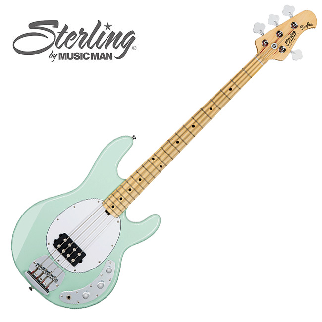 Sterling - StingRay Bass SUB<br>RAY4 / Mint Green
