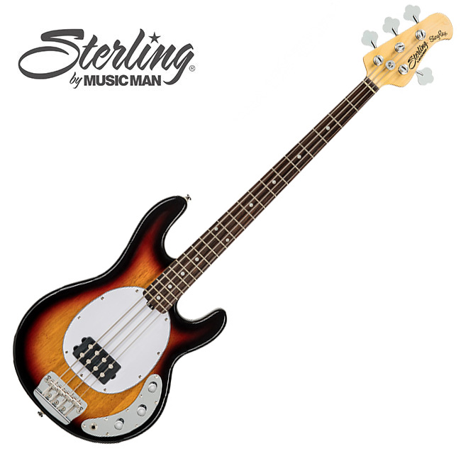 Sterling - Stingray Classic<br>RAY24CA / 3 Tone Sunburst