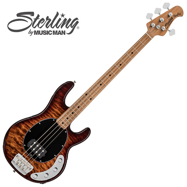 Sterling - StingRay Bass<br> RAY34QM / Island Burst