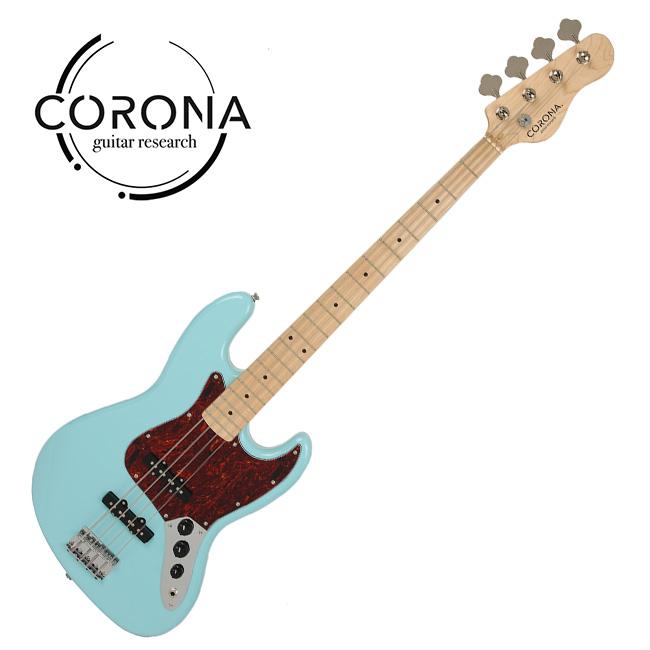 [10th New Generation]<br>Corona - Traditional Standard Jazz / 코로나 베이스기타 Daphne Blue (M)