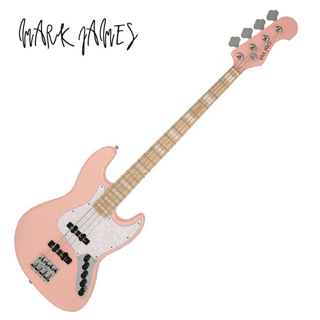 Mark James -  MJB-1000 / Standard Classic Jazz Bass (Pink)