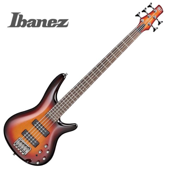Ibanez - SR375E / 아이바네즈 5현 베이스 (Aged Whiskey Burst)