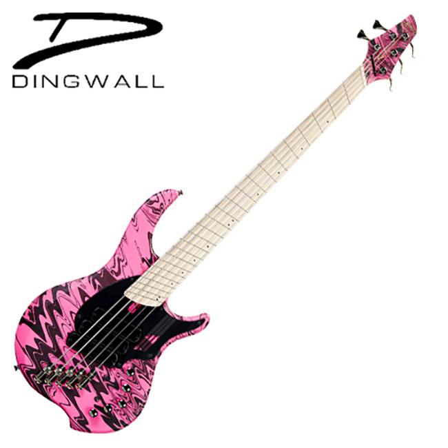 Dingwall - Adam Nolly Getgood Sig<br>NG3-5 / 딩월 5현 베이스<br>Matte Pink Swirl (NG3-5-MPS-M-MH)