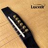 LUCENT - Brass 통기타 브릿지핀 (6개 1세트)