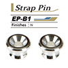 Gotoh Strap Pin Nickel(EP-B1 NI)