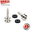 Schaller S-Lock Replacement kit<br>Nickel / Medium (BUTTONS M/NI)