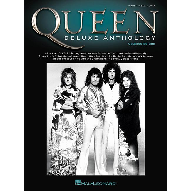 퀸 피아노 보컬 기타코드 악보<br>Queen - Deluxe Anthology [00278683]