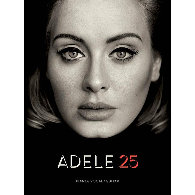 Adele - 25<br>아델 피아노/보컬/기타코드 악보집 (00155393)