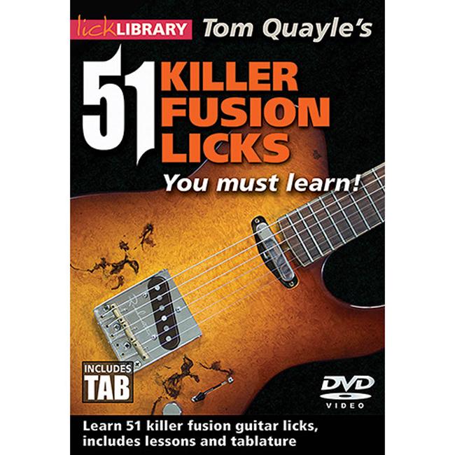 51 Killer Fusion Licks You Must Learn! - Tom Quayle<br>톰 퀘일 기타레슨DVD (00125869)