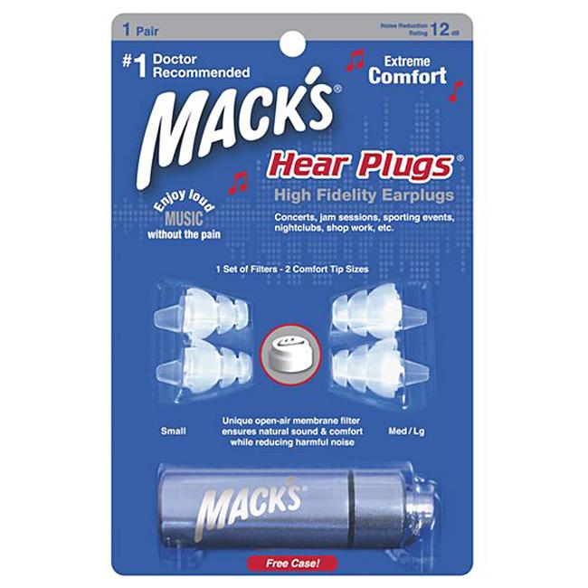 Macks Earplugs - High Fidelity 이어플러그
