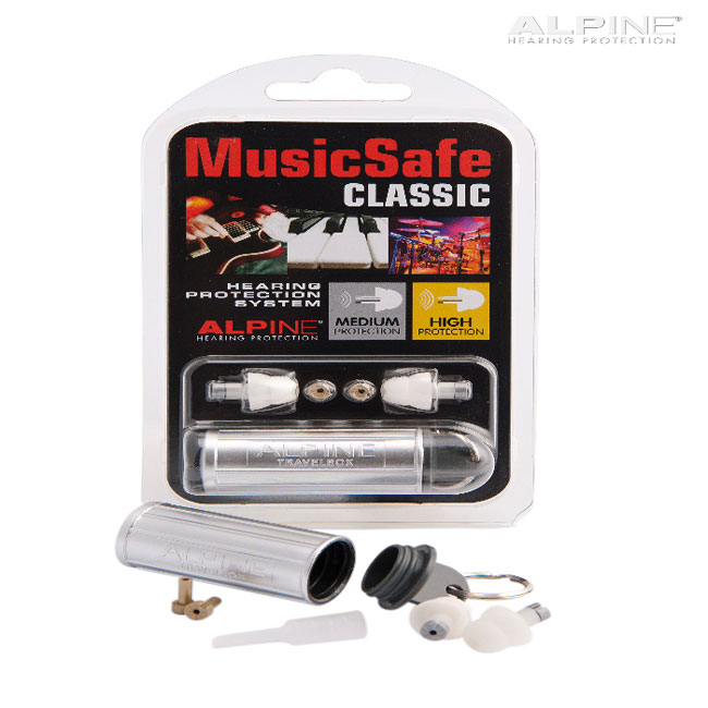 Alpine Music Safe Classic 청력손상 방지 이어 플러그