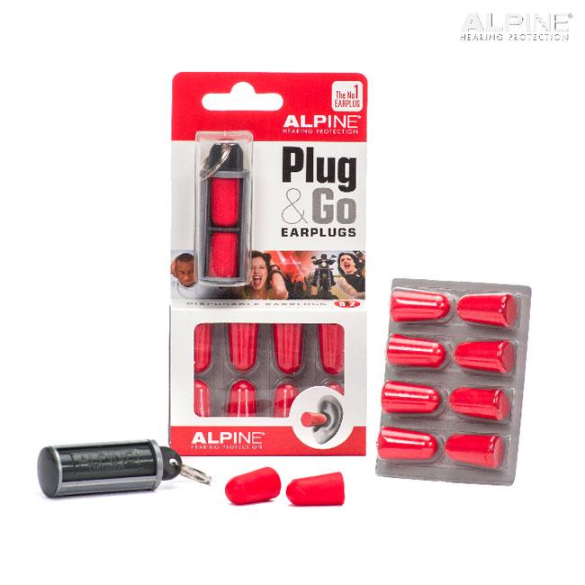 Alpine Plug GO 청력손상 방지 이어 플러그