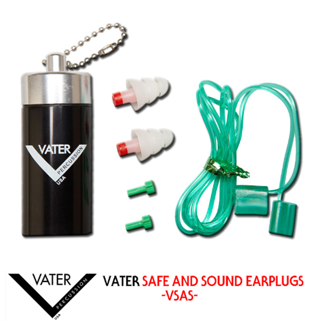 Vater Safe and Sound EarPlugs (VSAS)