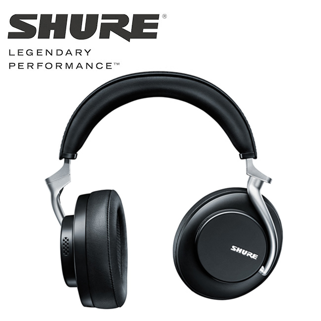 SHURE - AONIC 50 / 무선 노이즈 캔슬링 헤드폰 (블랙)