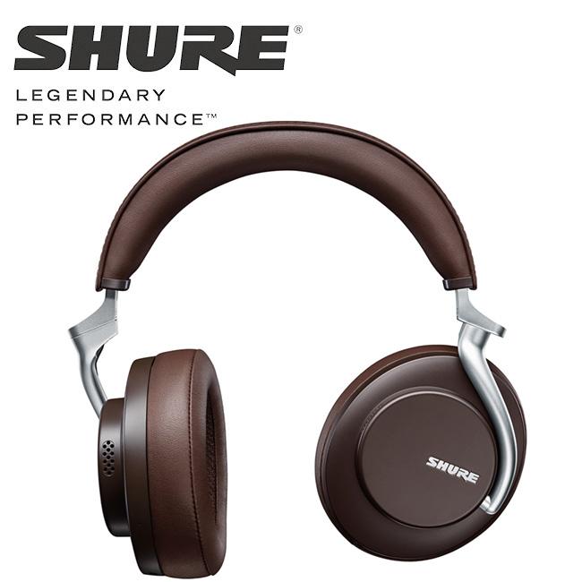 SHURE - AONIC 50 / 무선 노이즈 캔슬링 헤드폰 (브라운)