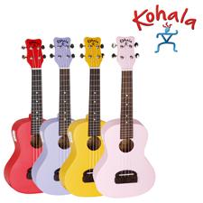 <font color=#262626>(입문용 우쿨렐레)Kohala Tiki 콘서트(튜너 내장)</font>